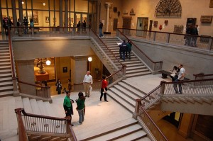 Main Staircase in the Art Institute of Chicago. Photo by maxintosh via Flickr.