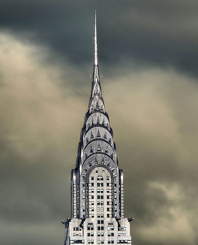 The Chrysler Building by joiseyshowaa via Flickr.