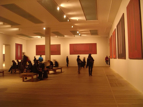 Rothko Room at the Tate Modern. Photo by libbyrosof via Flickr.