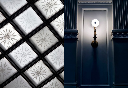 Light and Dark at the Ateneum. Both photos by ri Sa via Flickr.