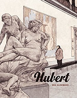 Cover of Ben Gijsemans' graphic novel Hubert.